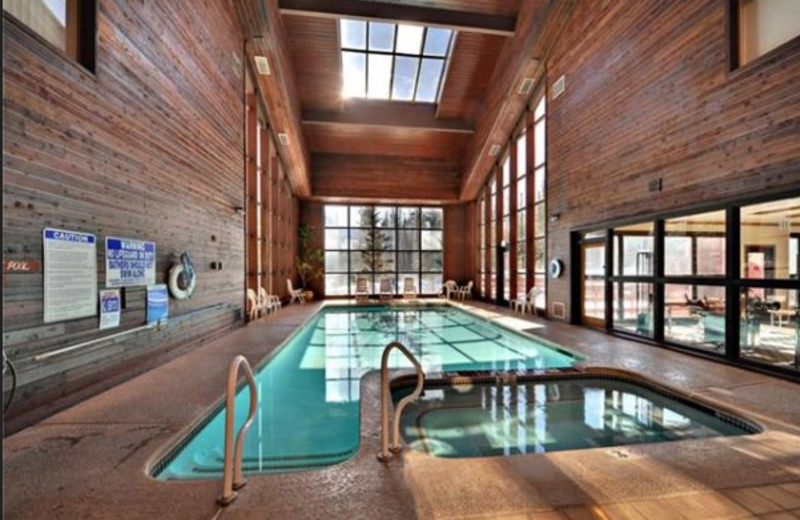 Indoor pool at Copper Chase Condominiums.