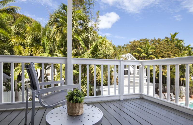 Deck at NYAH Key West.