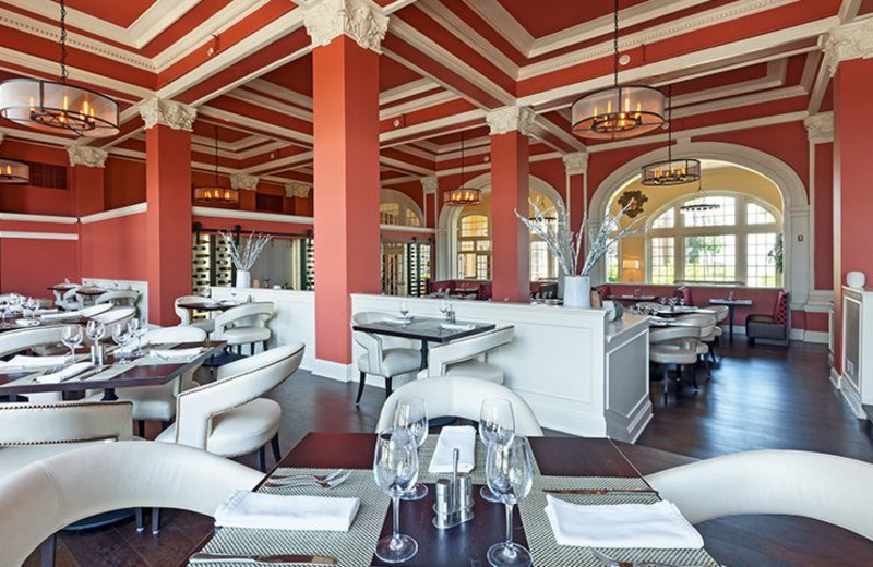 Onsite Restaurant at Hotel Galvez and Spa