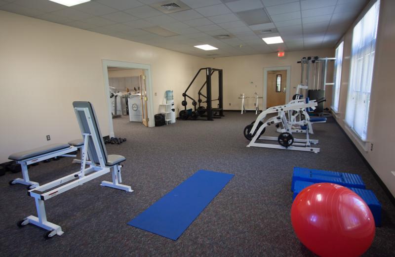 The Lake Junaluska Fitness Center.