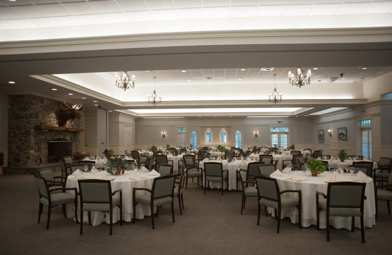 Hedges Hall Ballroom at Point Lookout Resort and Conference Center