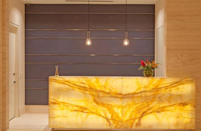 Lobby at Hotel Arista