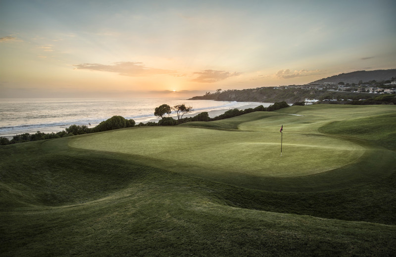 Golf course near The Ritz-Carlton, Laguna Niguel.
