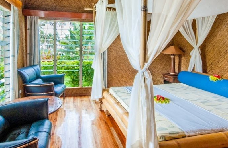 Guest room at Maravu Plantation Beach Resort & Spa.
