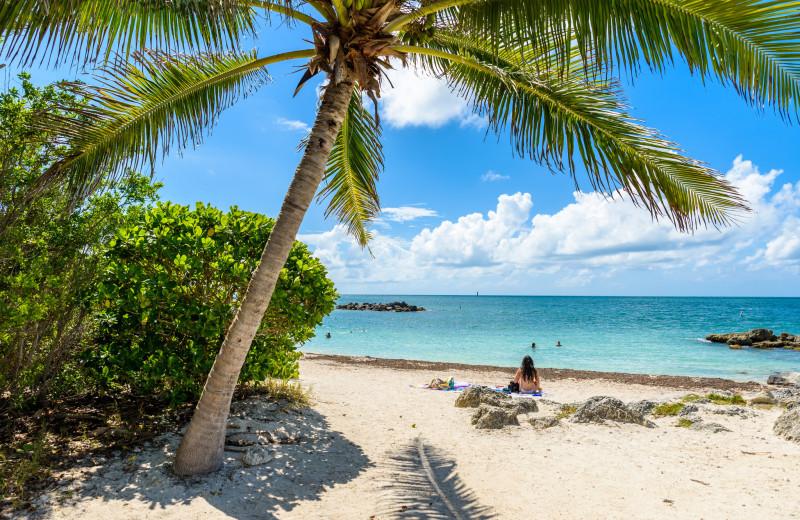 Beach near Island City House Hotel.