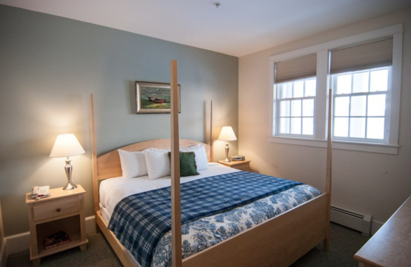 Guest room at Beachmere Inn.
