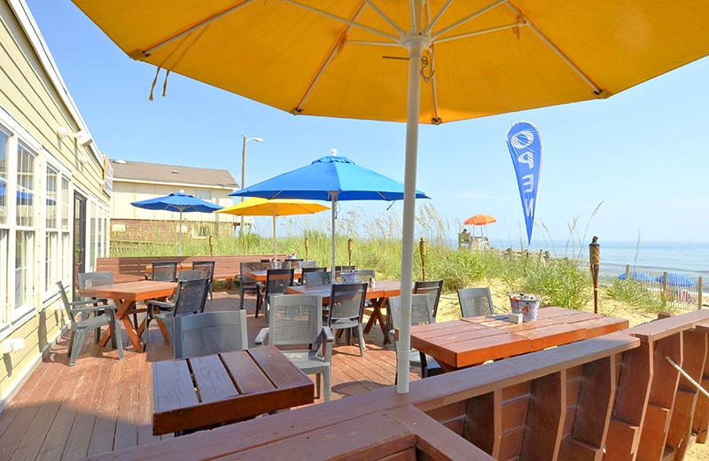Patio at The Sea Ranch Resort.