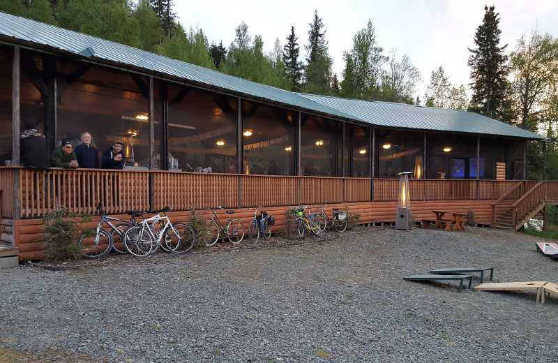 Event center at Gwin's Lodge & Kenai Peninsula Charter Booking Service.