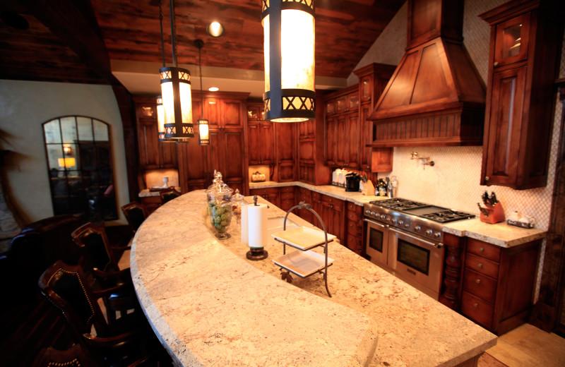 Kitchen at Morrell Ranch.