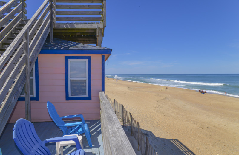 Our property 122 Pelican's Perch is the closest to the beach!