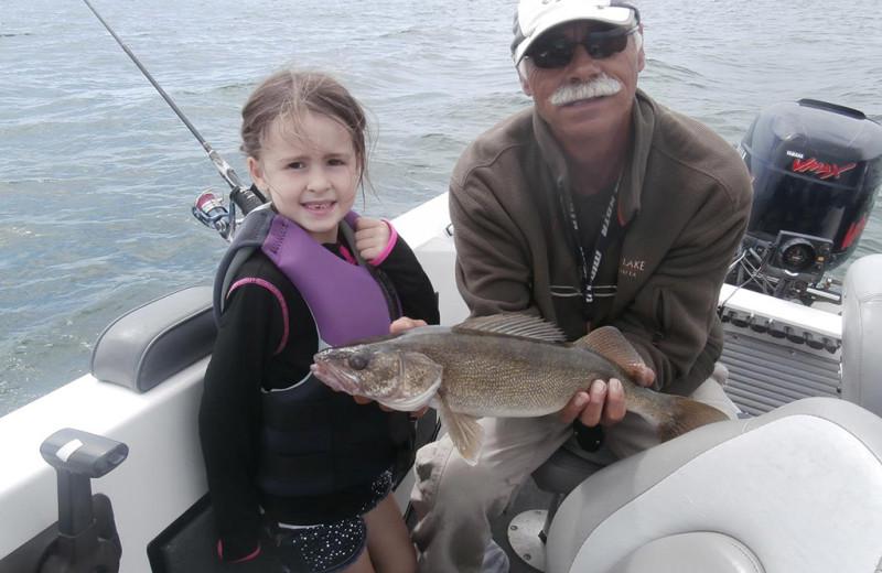 Fishing at Holly's Resort.