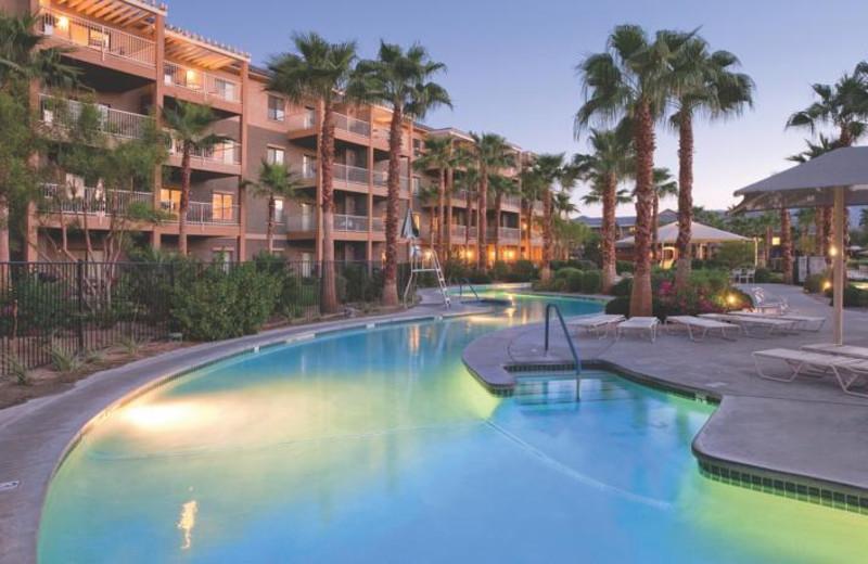 Outdoor pool at Resort at Indio.