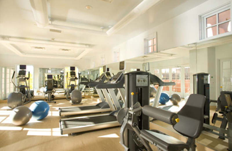 Fitness room at Hotel Santa Fe