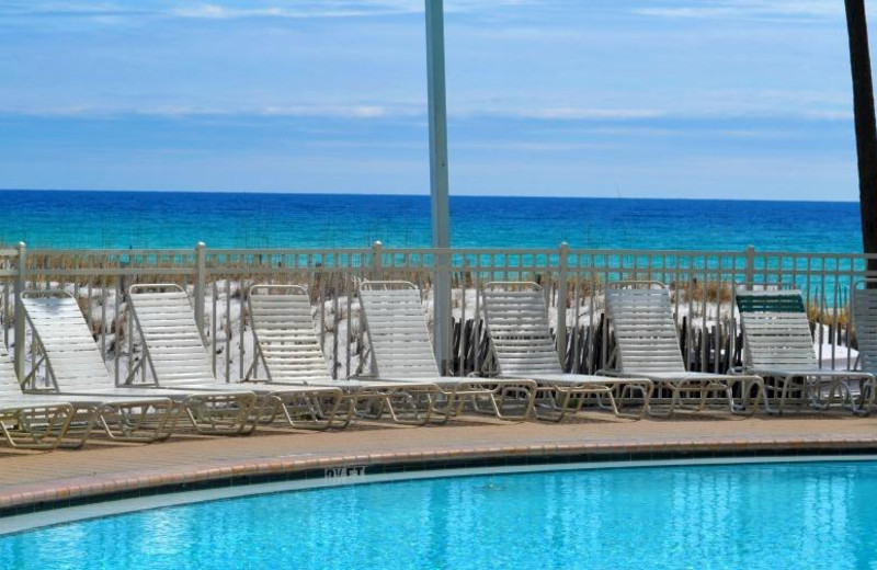 Outdoor pool at Resorts of Pelican Beach.