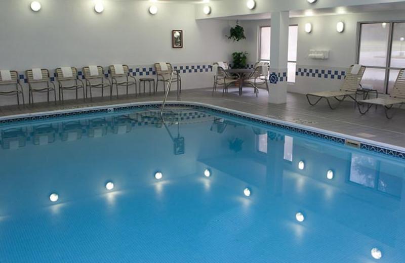 Indoor pool at Fairfield Inn Fort Worth.