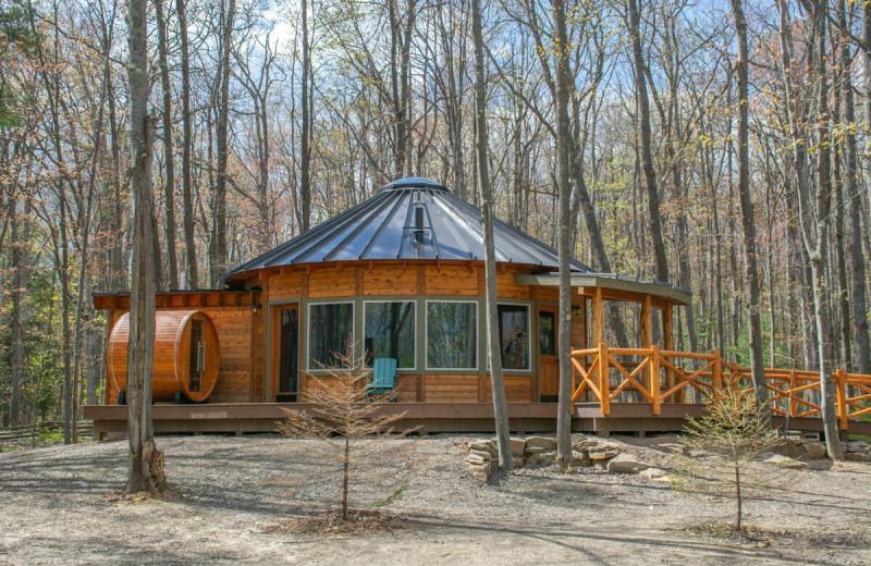 Yurt at Railey Vacations.