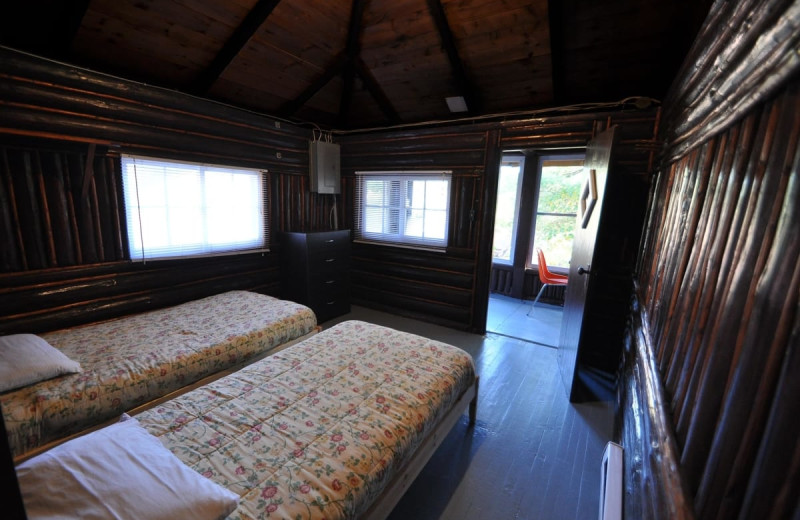 Cabin beds at Wolseley Lodge.