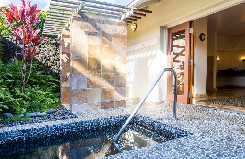 Hot tub at Travaasa Hana.