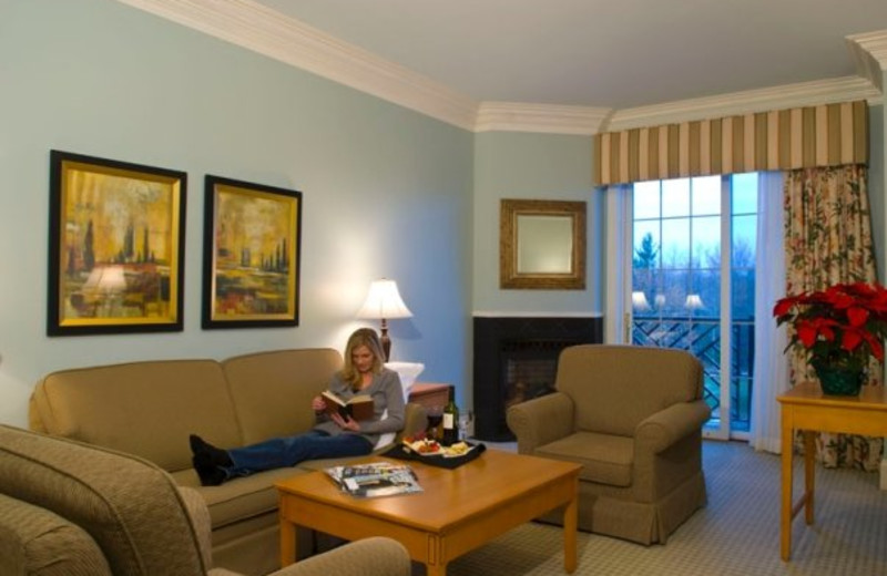 Suite Interior at The Resort at Glade Springs