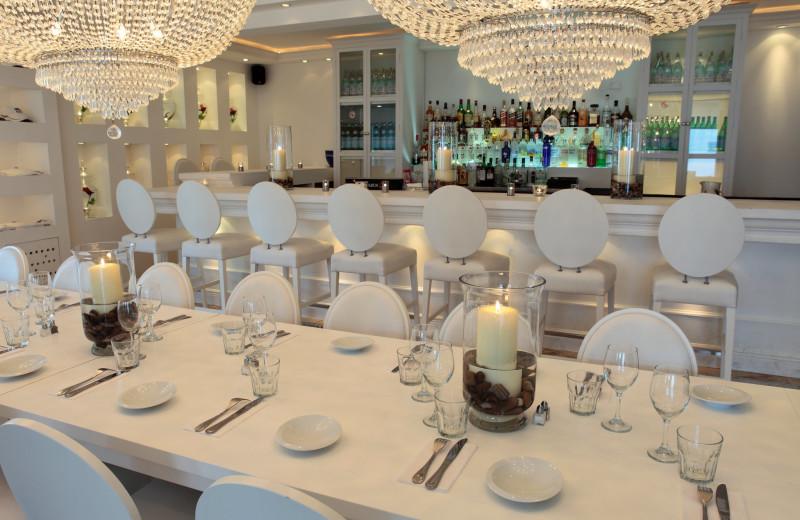 Restaurant at Coral Beach Club.