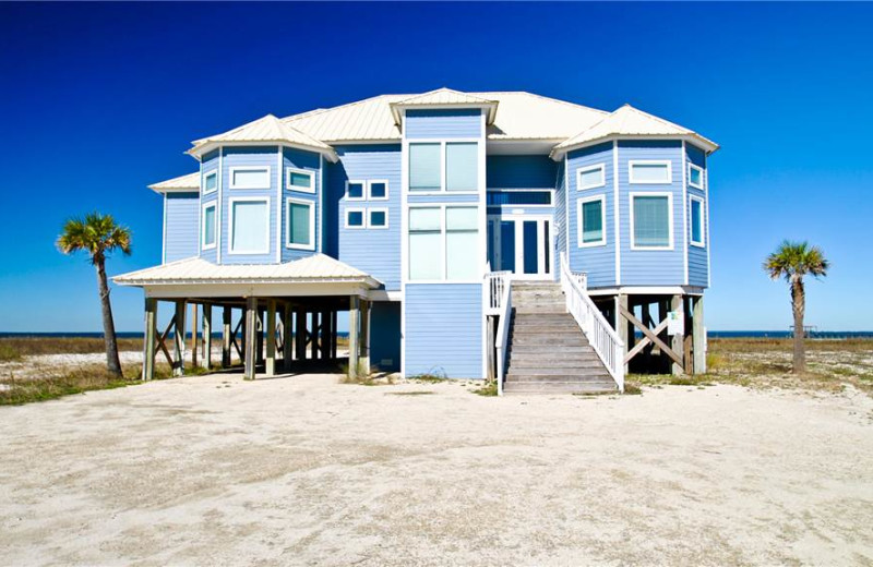 Rental exterior at Dauphin Island Beach Rentals, LLC.