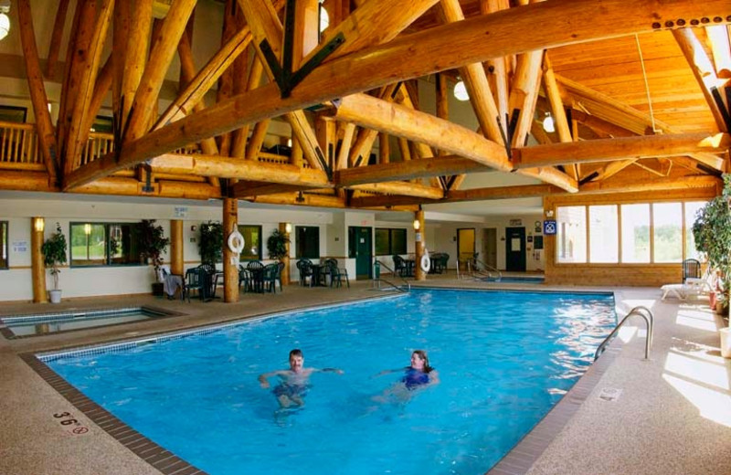Indoor pool at Grand Ely Lodge Resort & Conference Center.