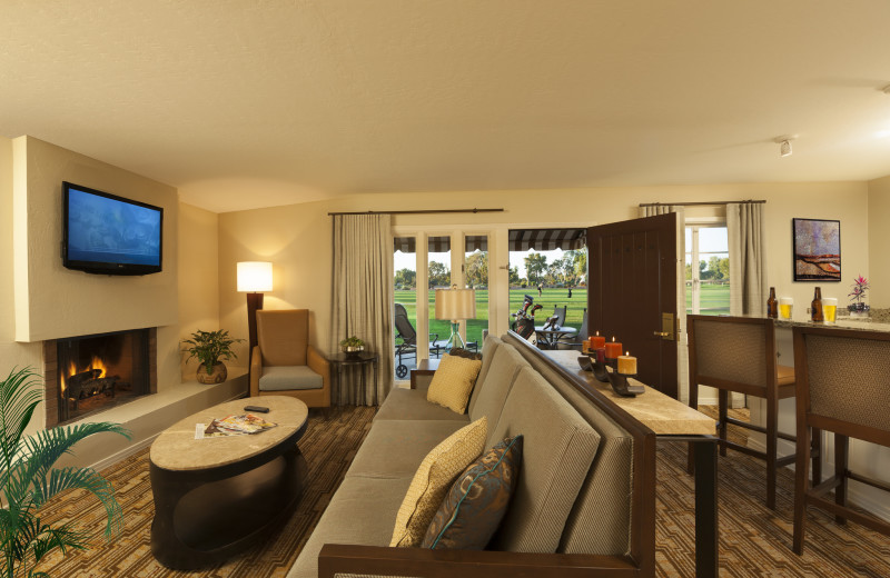 Guest suite at The Wigwam Resort.