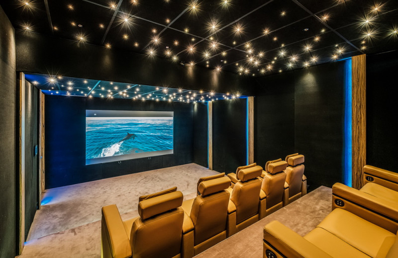Rental theater at Lauren Berger Collection.