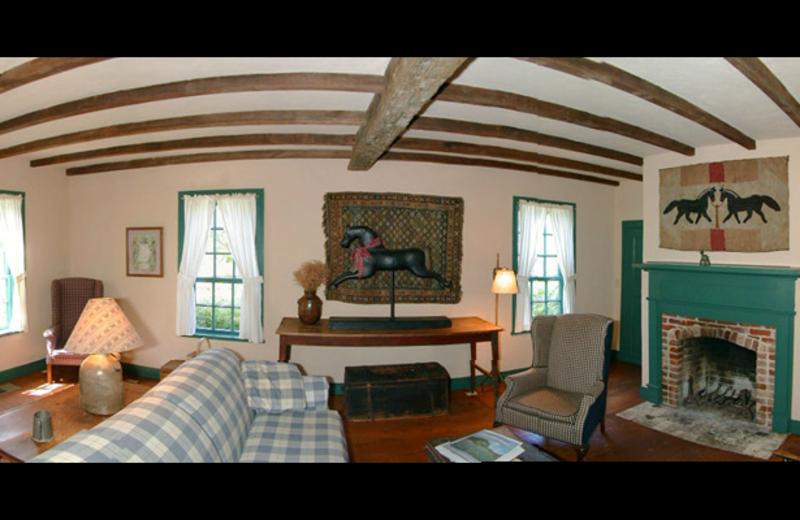 Von Heinrich Cabin interior at Settlers Crossing.