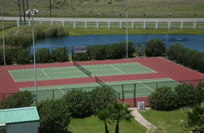 Tennis Courts at Port Royal Ocean Resort