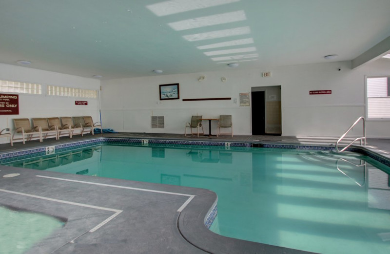 Indoor pool at Ogunquit Tides.