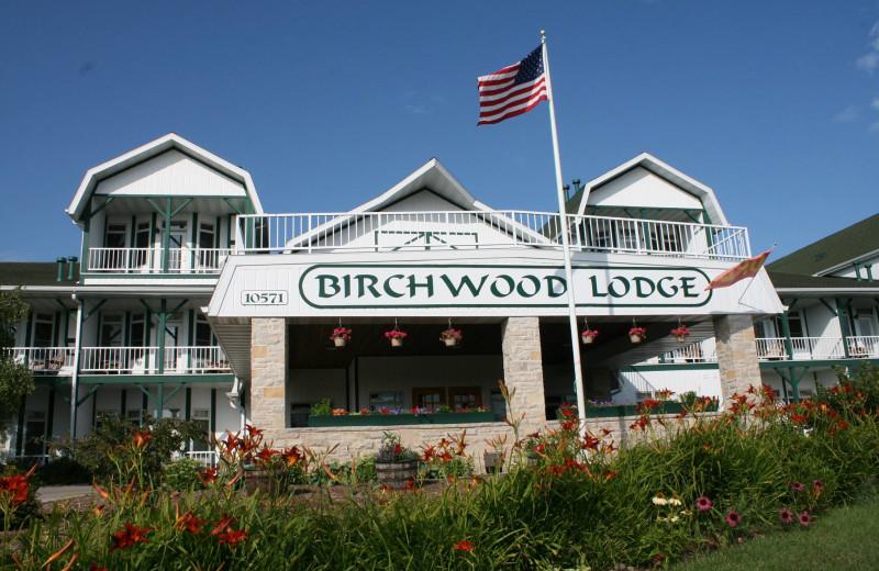 Exterior view of Birchwood Lodge.