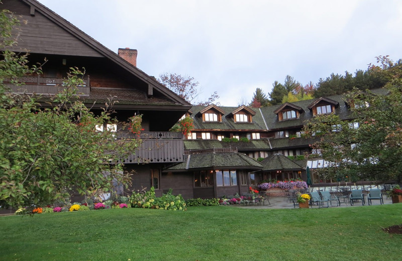 Exterior view of Trapp Family Lodge.