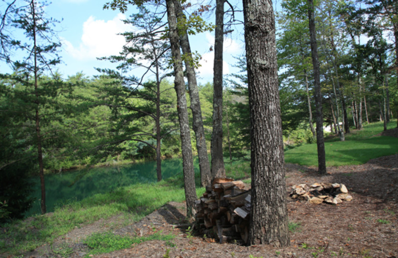 Grounds at Highland Rim Retreats.