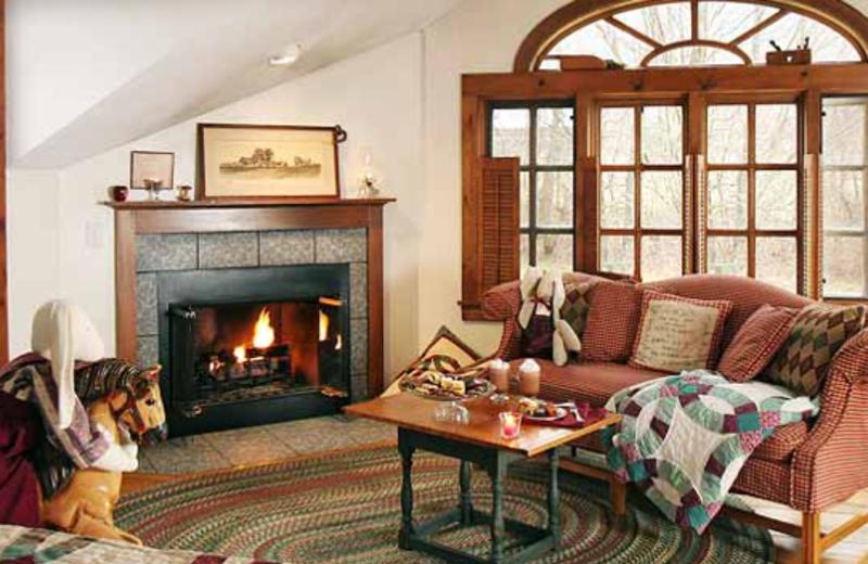 Loft Luxury Room view at Rabbit Hill Inn.