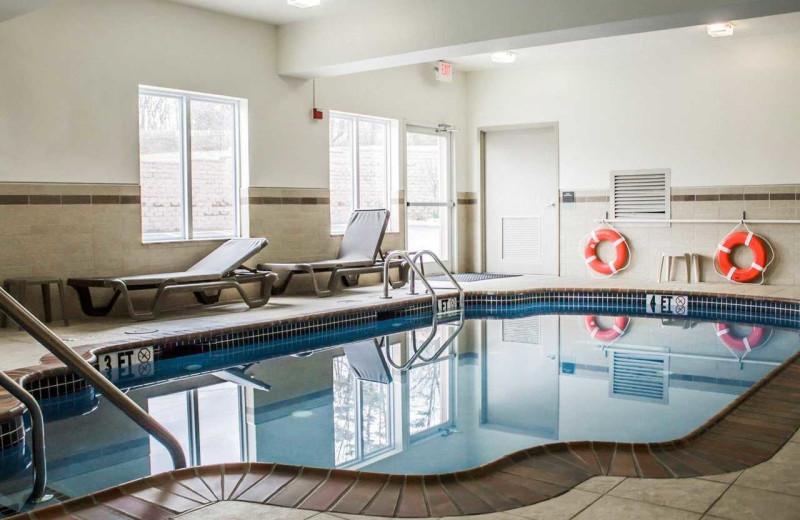 Indoor pool at Sleep Inn