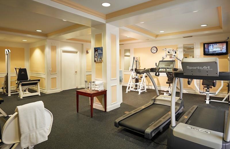 Fitness center at Plaza Resort & Spa.