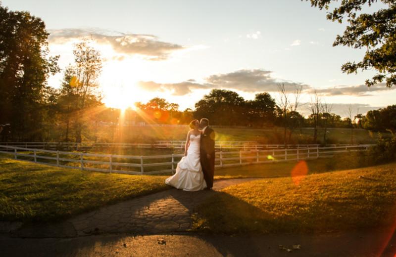 Romantic wedding at Stonehedge Inn and Spa.
