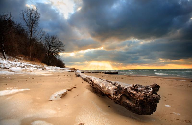 Beach near Days Inn & Suites - Benton Harbor.
