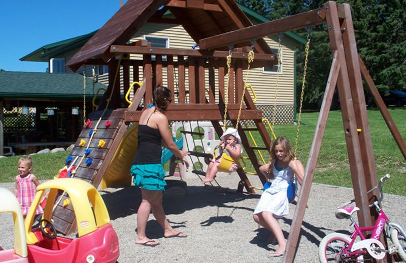 Playground at Eagle Ridge Resort.
