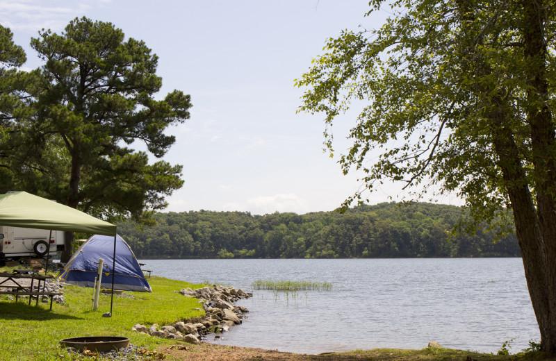 Camping at Big Bear