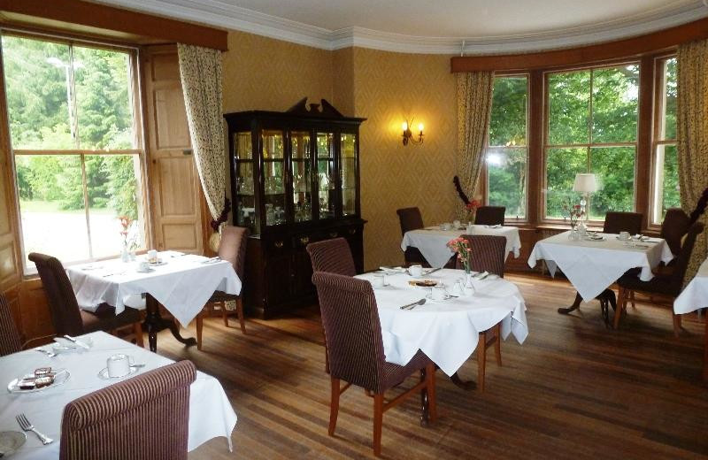Dining at Altamount House Hotel.