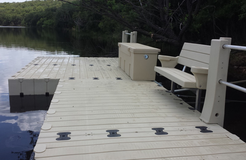 Dock at Greystone Castle Sporting Club.