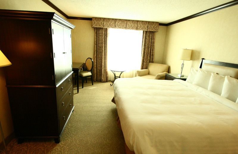 Hotel room at Hollywood Casino Tunica.