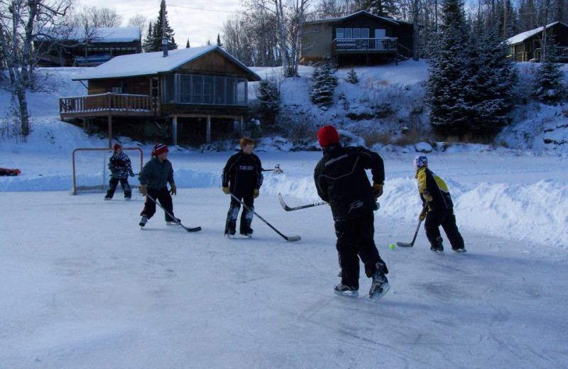 Ice Hockey at Birch Dale Lodge