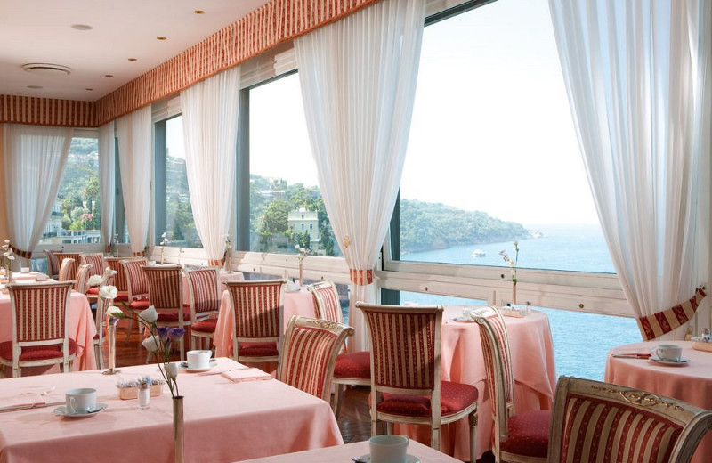 Dining at Imperial Hotel Tramontano.