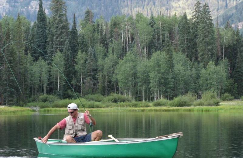 Fishing at Durango Colorado Vacations, LLC.
