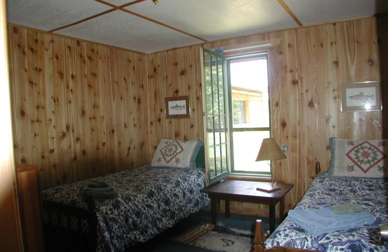 Ranch House bedroom at Rising Wolf Ranch.