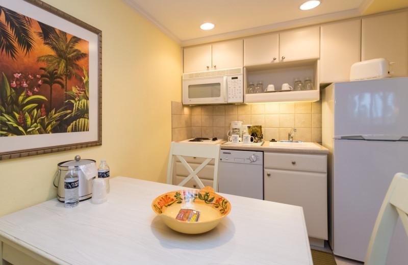 Guest kitchen at Inn At The Beach Resort.
