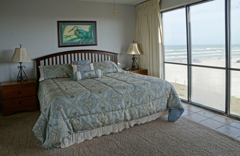 Bedroom at Island House Beach Front Condominiums